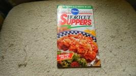 PILLSBURY SHORTCUT SUPPERS COOKBOOK FEBRUARY 1995 #168 FREE USA SHIP - $4.98
