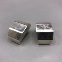 Sterling Silver Mexico TB Clip On Earrings Vtg - $53.45