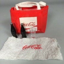 miniature dollhouse Coca cola tote bag beach towel Vintage coke bottles - $23.26
