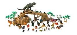 Toy Tron Dino King 2 New Paradise 3D Animation Dinosaur Figures Set