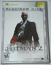 Xbox - HITMAN 2 - SILENT ASSASSIN (Complete with Manual) - $8.00