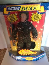 Hasbro G.I. Joe Hall of Fame Electronic Battle Command Duke 1992 - $32.95