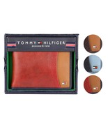 Tommy Hilfiger Men's Premium Leather Credit Card ID Wallet Passcase 31TL... - $23.99