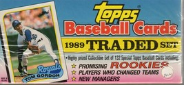 1989 Topps Traded Baseball Trading Cards Factory Sealed Box Ken Griffey ... - $10.00
