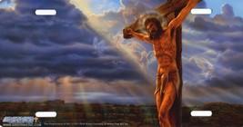 Jesus Crucifixion Cross Religious Spiritual Vanity License Plate Aluminu... - $18.05