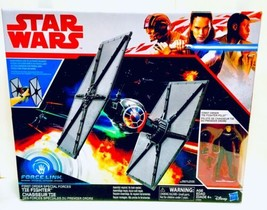 Star Wars Force Link First Order Special Force TIE Fighter Exclusive New - $21.99