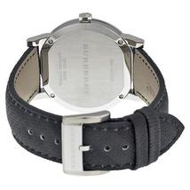 Burberry Men's Watch BU9030 Grey Dial Black Polyvinyl Strap image 3