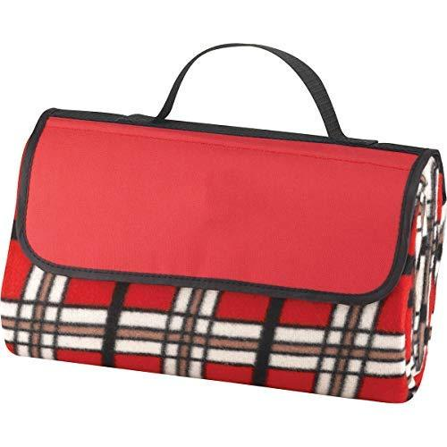 Primary image for Monogram Online Picnic Blanket, Red