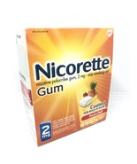 Nicolette Gum Fruit Chill 2mg 100 Pieces  New In Box exp 2/2022 Not sealed - $23.00