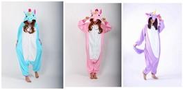 Traje Cosplay unicornio Tenma Kigurumi Pijamas Animal Unisex Onesie Ropa... - £14.29 GBP