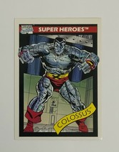 Marvel Universe 1990 Series 1 36 Colossus Trading Card X-Men - $1.97