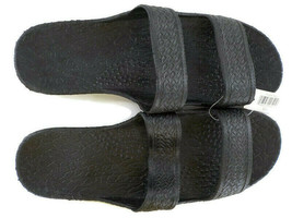 Pali Hawaii Jesus Sandals Jandals Black SZ 13 Unisex Men Women Slide Sli... - $13.99