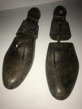 Vintage Wood Shoe Tree Form Stretchers Set of Two- Footjoy - $28.84