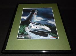 2001 Toyota Celica Framed 11x14 ORIGINAL Vintage Advertisement - $34.64