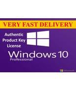 Windows 10 Pro 32/64 Authentic Product Key License USA/CA/UK/AU - $14.99