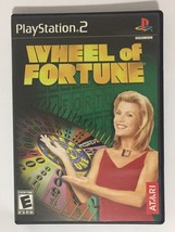 Wheel of Fortune PlayStation 2 PS2 Kids Game  - $12.86