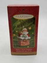 Hallmark Keepsake Ornament - Santa's Sweet Surprise - $9.40