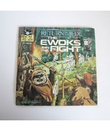 Vintage Star Wars ROTJ The Ewoks Join the Fight 24 Page Book & 33 1/3 Re... - $8.99