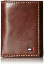 Tommy Hilfiger Men's Logan Trifold Zipper Coin Credit Card ID Wallet 31TL110018