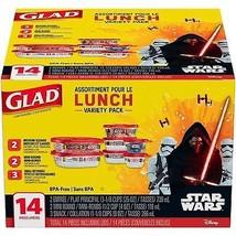 Glad Lunch Variety Pack Star Wars Food Storage ... - $12.96