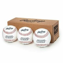 New Rawlings Official League Recreational Use Baseballs, Box of 3, Olb3b... - $14.90
