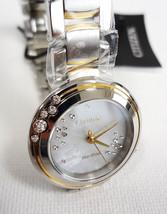 Citizen Women's Diamond Watch ECO-DRIVE Carina EM0464-59D Made In Japan - New! - $465.00