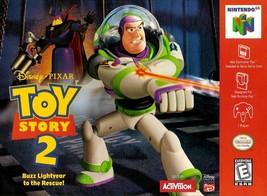 Toy Story 2 N64 Nintendo 64 Video Game - $17.97