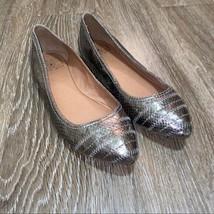 Lucky Brand Women's Peppy Metallic Flats, Size 9M/39 - $21.99