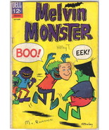 Melvin Monster Comic Book #5 Dell Comics 1966 VERY GOOD - $10.69