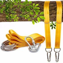 zhuopin Tree Swing Straps Hanging Kit, Tree Swing Straps 10ft(Two 5ft) A... - $20.11