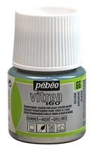 Pebeo Vitrea 160, Glass Paint, 45 ml Bottle - Shimmer Silver - $9.59