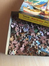 "Vintage 50s Tuco Interlocking Picture Puzzle- #5982 ""Along Cape Cod""  image 8"