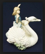 "LLADRO 5705 ""SWAN AND PRINCESS"" - £319.05 GBP"