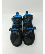 Nike LeBron Soldier IX 9 Premium Soar Size 8 Blue/Black 749490-014 - $59.39