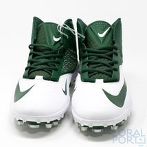 New Nike Alpha Pro Flywire 3/4 TD Football Cleats Mens Size 16 Green&White - $57.23