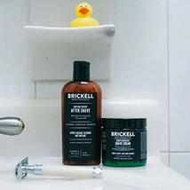 Brickell Men's, Smooth Brushless Shave Routine, Shave Cream and Aftershave, Natu image 5