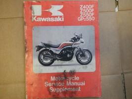 1983 83 1984 84 Kawasaki ZR400 ZR500 ZR550 400 500 550 Service Manual - $59.74