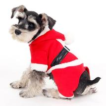 Wholesale Clothing Christmas Puppy Suits Dog Coat with Hat Dog Hooded Cl... - $27.41+