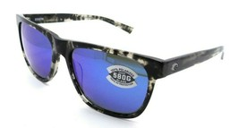 Costa Del Mar Sunglasses Apalach Shiny Black Kelp / Gray Blue Mirror 580... - $245.00