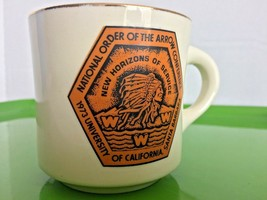 USA 1973 BOY SCOUTS OF AMERICA Mug NATIONAL ORDER OF ARROW CONFERENCE Ca... - $8.50