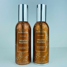 2 Bath & Body Works Sweater Weather Concentrated Room Spray Fragrance 1.5 oz - $17.56