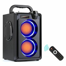 Portable 20W Bluetooth Speaker Power Wireless Stereo Outdoor Party FM Ra... - $159.39 CAD