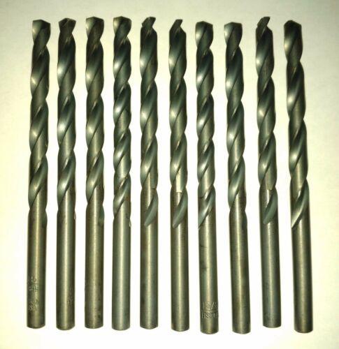 "Irwin 63515 15/64"" Heavy Duty Black Oxide High Speed Drill Bit 10PK USA - $6.44"