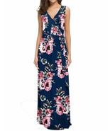 POKWAI Women Sleeveless Maxi Dress Casual Long Dresses Beach Dresses Boh... - £24.16 GBP+