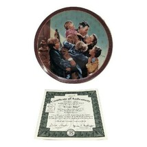 It's a Wonderful Life Welcome Home Frank Capra Film 1995 Collector Plate  - $94.05