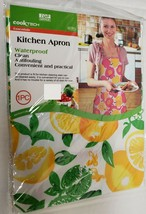 "Fabric Printed Kitchen Waterproof Apron, (approx. 20"" x 36"") LEMONS, TG - $11.87"