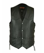 Men's Side Lace Economy Bike Apparel Rider Motorcycle Vest by Daniel Sma... - $31.95+