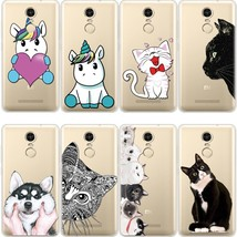Black Cat Cover For Xiaomi Redmi 4 4A 5Plus 6Pro 6A Mi A1 A2 5X 6X Note ... - $13.95