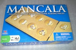 Mancala Boxed Board Game By Cardinal Ind Family Table Time Fun Gemstones China - $14.99