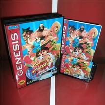 Street Fighter 2 Turbo Beta Edition Sega Genesis - Case, Cart & Booklet Mega - $29.99